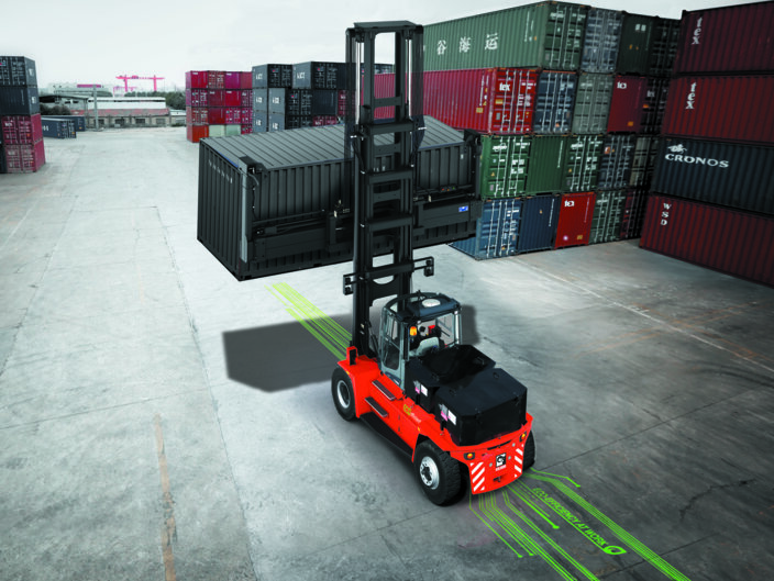 Empty container handler kalmar investments calista buisson investment